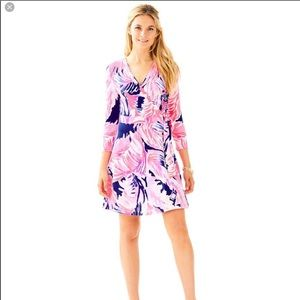 Lilly Pulitzer Dresses - NWT Lilly Pulitzer Emilia Wrap Dress